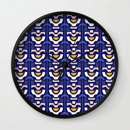 Retro Flower Wall Clock