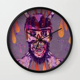 Moto Head Wall Clock