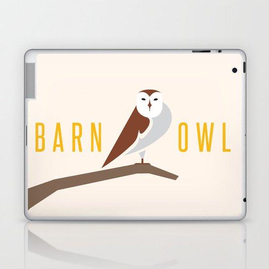 Barn Owl Laptop & iPad Skin