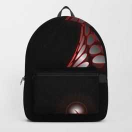 Abstract flux from flare - Vector Backpack