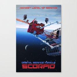 """OSV """"Scorpio"""" Canvas Print"""