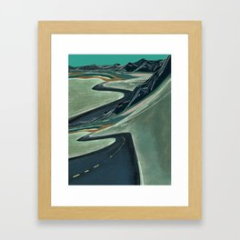 Double Vision On the Open Road Framed Art Print