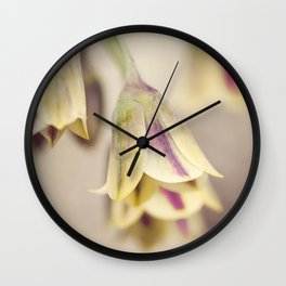 Colorful bluebells Wall Clock