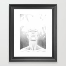 Lightheaded Framed Art Print