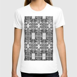 Azulejo in Black and White T-shirt