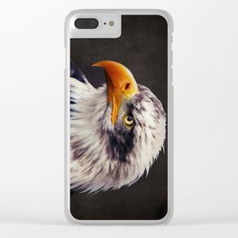 Bald Eagle Clear iPhone Case