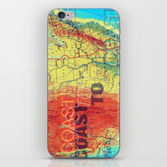 Coast To Coast iPhone & iPod Skin