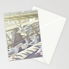 Birds playing on sunshine Stationery Cards