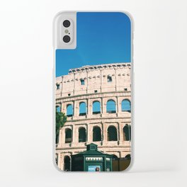 Colosseum I Clear iPhone Case