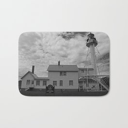 Whitefish Point Lighthouse Bath Mat