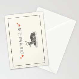 You Are So Deer To Me Stationery Cards