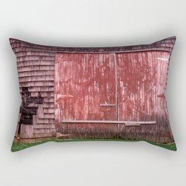 Doors at Dusk Rectangular Pillow