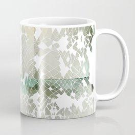 Fractured Silver Coffee Mug