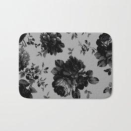 Gothic Floral Bath Mat