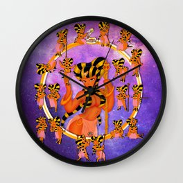 Queen 2 Chibi Set Wall Clock