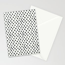 Hand Drawn Polks Dots Stationery Cards