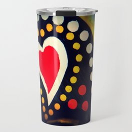 Portuguese Heart Travel Mug