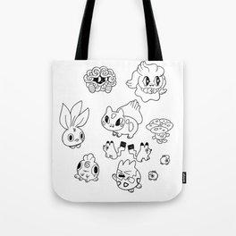 Pokemen  Tote Bag