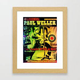 Paul Once Jammed With Style Framed Art Print