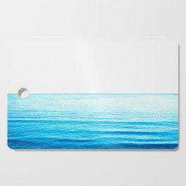 Blue Ocean Illustration Cutting Board
