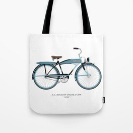 Vintage J.C. Higgins Bike Tote Bag