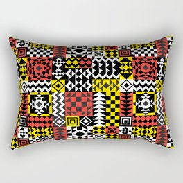 Geo Pattern Rectangular Pillow