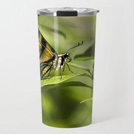 Butterfly Resting Travel Mug