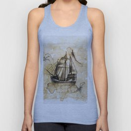 In the mist Unisex Tank Top