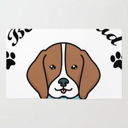Beagle Dad Funny Love Dog Pet Gift Rug