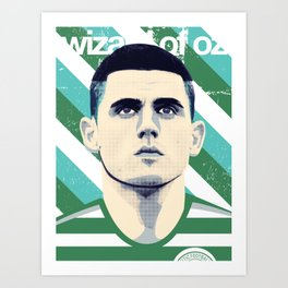 Tom Rogic, The Wily Wizard Art Print