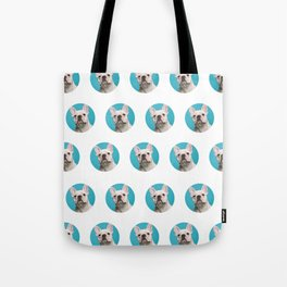 Pop Art Frenchie Tote Bag