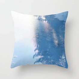 Ice, ice baby Throw Pillow