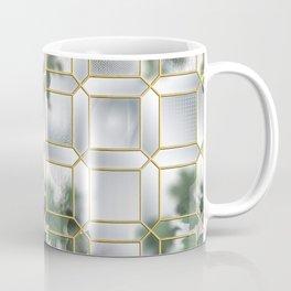 Art Deco Glass Partition Coffee Mug