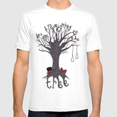 The Hanging Tree 2X-LARGE White Mens Fitted Tee
