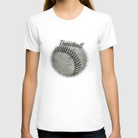 baseball T-shirts featuring Baseball by Christy Leigh