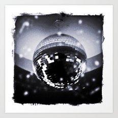 Mirror Ball Art Print