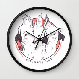 COCKATHREE Wall Clock