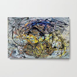 Endless Energy Metal Print