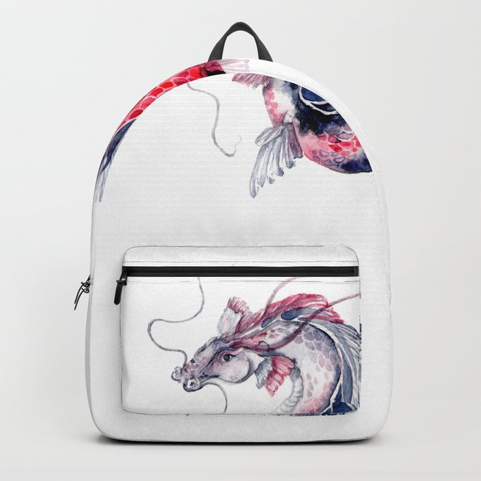 Koi Dragon Backpack
