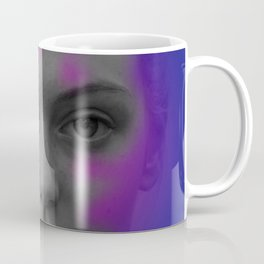 Pink and blue portrait Coffee Mug
