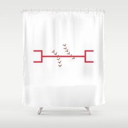 King of the Brackets Shower Curtain