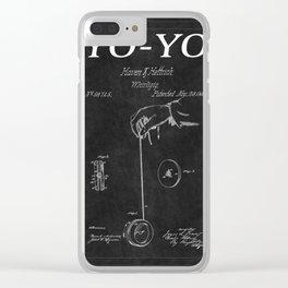 Yo Yo Patent 2 Clear iPhone Case