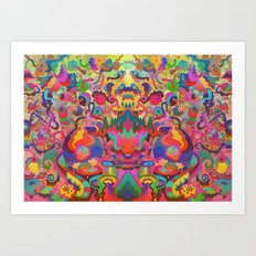 Second Vision Art Print
