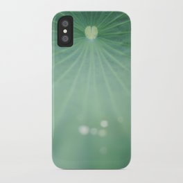Love comes naturally iPhone Case