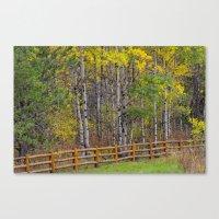 ashton irwin Canvas Prints featuring Ashton Idaho - Autumn Time by IMAGETAKERS