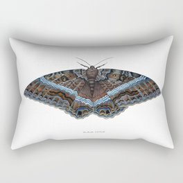 Black Witch Moth Rectangular Pillow