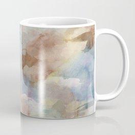 Earth Color Watercolor Abstract Coffee Mug