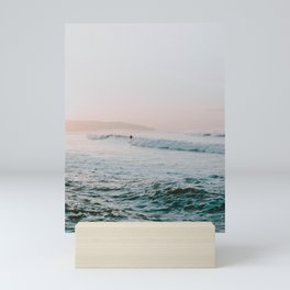 summer waves Mini Art Print