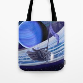 Through Space and Sound Tote Bag