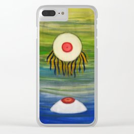 The Eyes Have It - Cool Clear iPhone Case